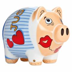 Mini Piggy Bank Set of 3 by Zwischenraum