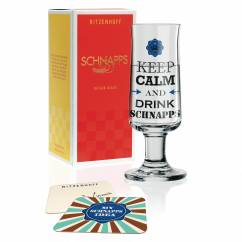Schnapps shot glass by Gabriel Weirich