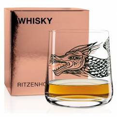 WHISKY Whisky Glass by Olaf Hajek (Nessie)
