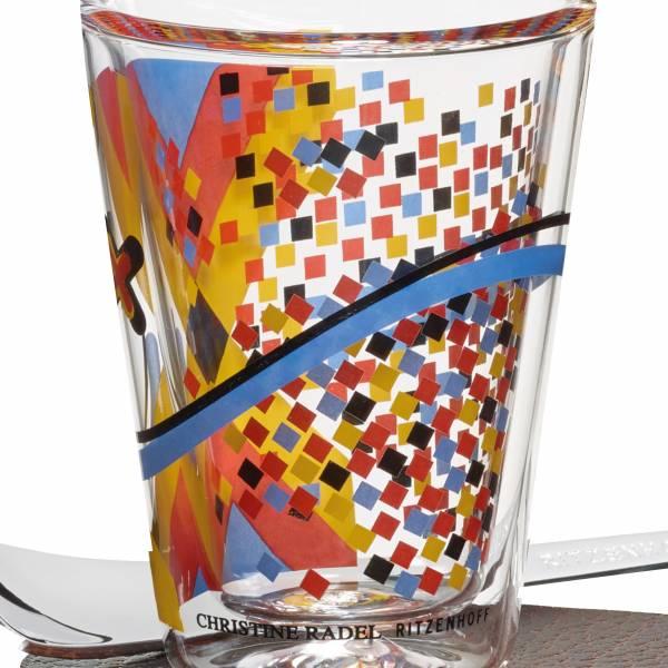 A Cuppa Day espresso glass by Christine Radel