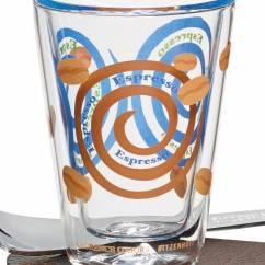 A Cuppa Day espresso glass by Laurence Gartel