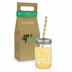 Make It Take It smoothie glass by Kathrin Stockebrand
