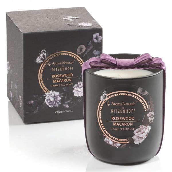 Noir Duftkerze, Rosewood Macaron (H: 8,5 cm, ø 7,5 cm)