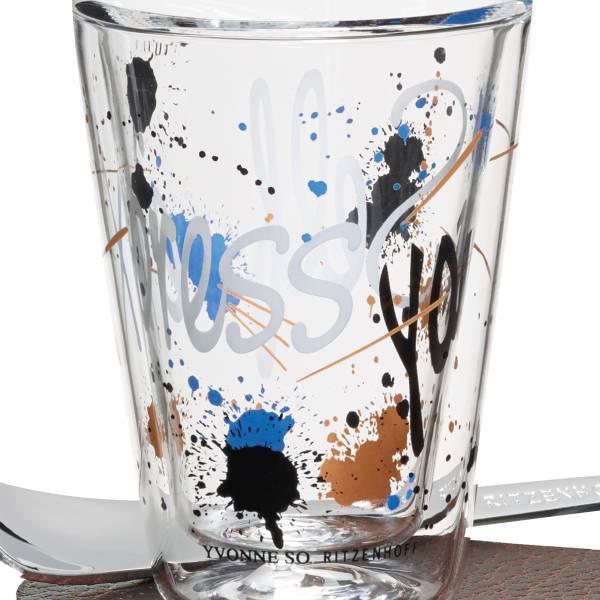 A Cuppa Day Espressoglas von Yvonne So