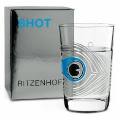 SHOT Shot Glass by Sonia Pedrazzini (Peacock)
