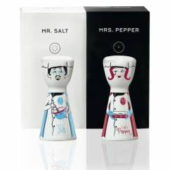 Mr. Salt & Mrs. Pepper Salz- und Pfefferstreuer-Set von Shari Warren