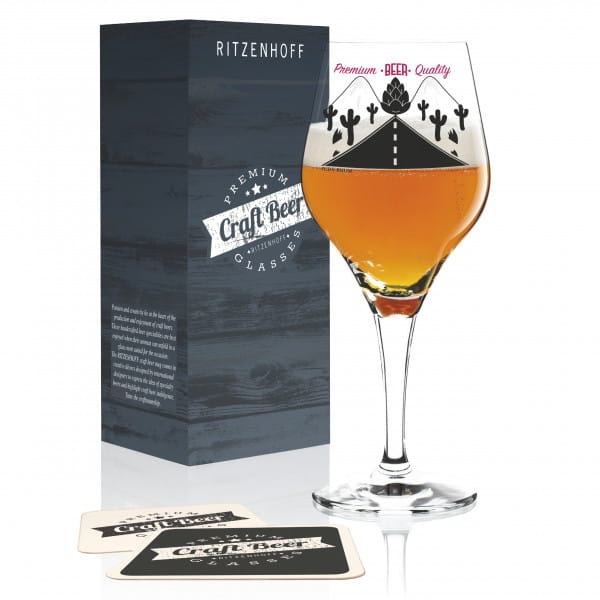 Craft Beer Bierglas von Judy Rhum
