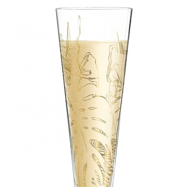 Champus Champagne Glass by Shibuleru