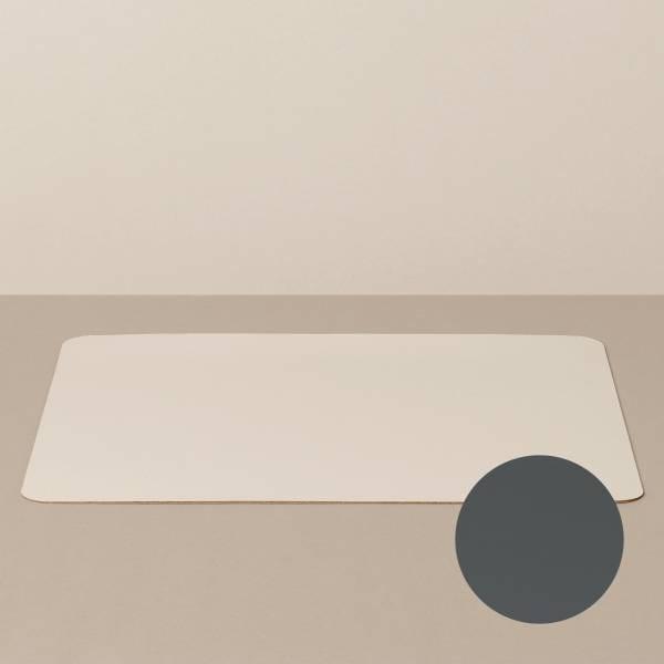 Tabletteinlage/Platzset XL, eckig, in Sand/Stone