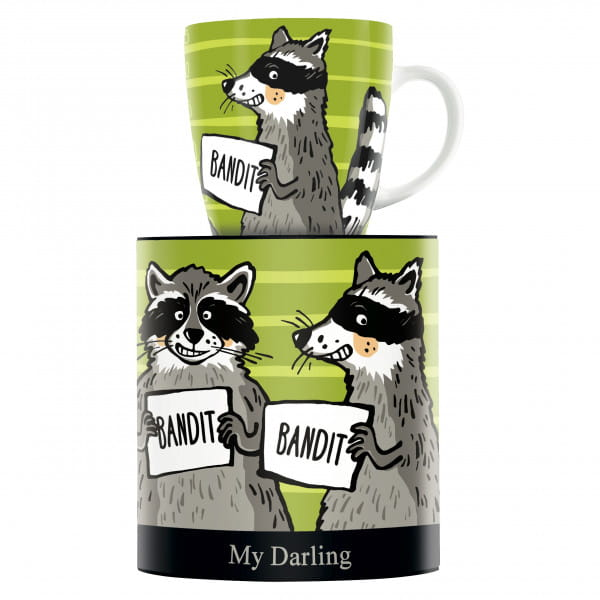 My Darling coffee mug by Martina Schlenke
