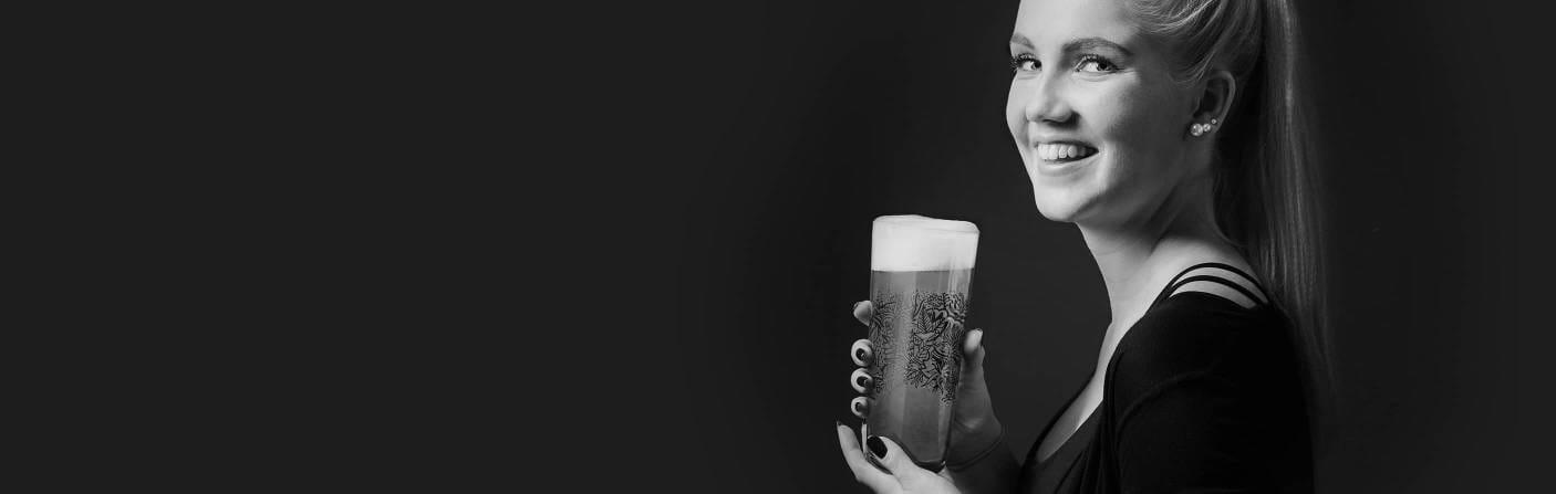 Wheat Beer - Modern wheat beer glass