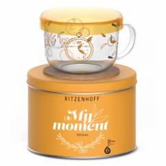 My Moment tea glass by Kurz Kurz Design
