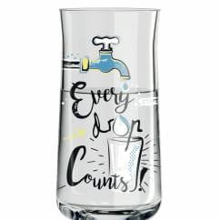 Schnapps shot glass by Dominika Przybylska (Every drop)