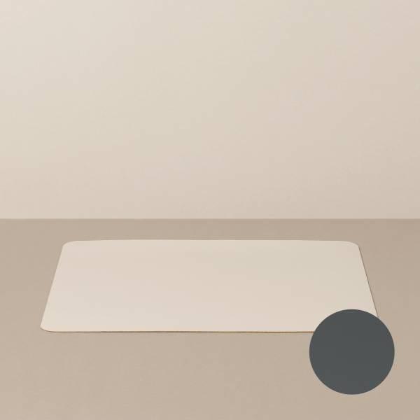 Tabletteinlage/Platzset L, eckig, in Sand/Stone