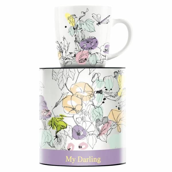 My Darling Kaffeebecher von Peter Pichler