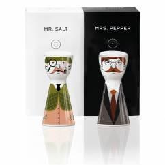 Mr. Salt & Mrs. Pepper Salz- und Pfefferstreuer-Set von Santiago Sevillano