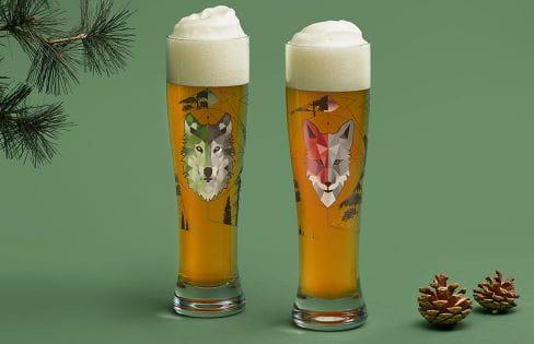 Freibier-Duett – 2er Weizenbierglas-Set