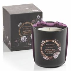 Noir scented candle large, Black Amber & Ginger Lily