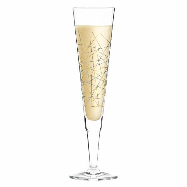 Champus Champagne Glass by Burkhard Neie (Mikado)