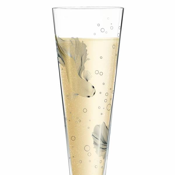 Champus Champagne Glass by Werner Bohr