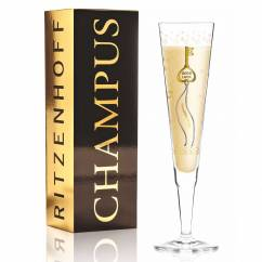 Champus Champagne Glass by Sven Dogs
