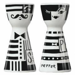 Mr. Salt & Mrs. Pepper Salz- und Pfefferstreuer-Set von Andrea Arnolt