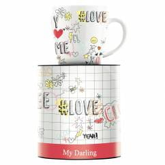 My Darling coffee mug by Concetta Lorenzo