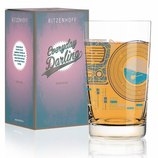 Everyday Darling Softdrinkglas von Kurz Kurz Design