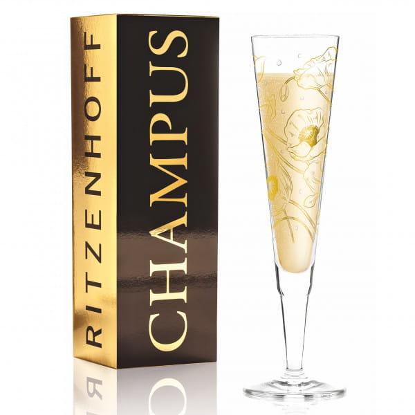 Champus Champagnerglas von Shari Warren