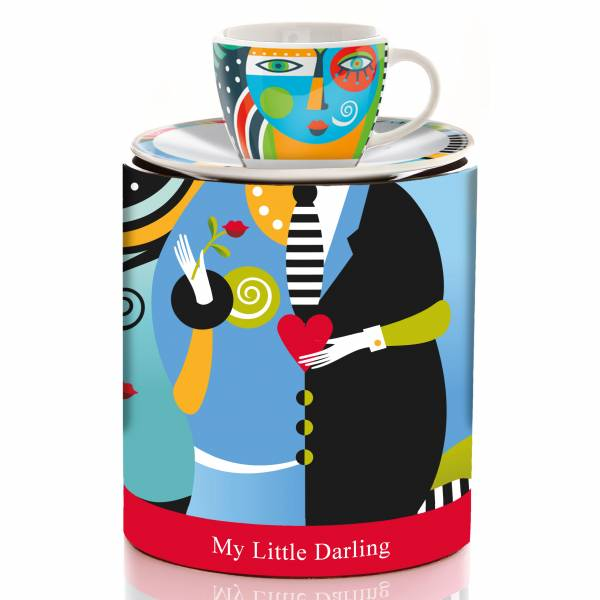 My Little Darling Espressotasse von Christiane Beauregard