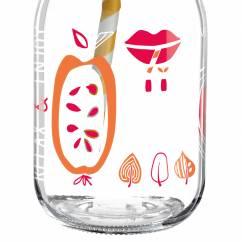 Make It Take It smoothie glass by Michal Shalev