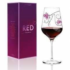 Red Rotweinglas von Ramona Rosenkranz