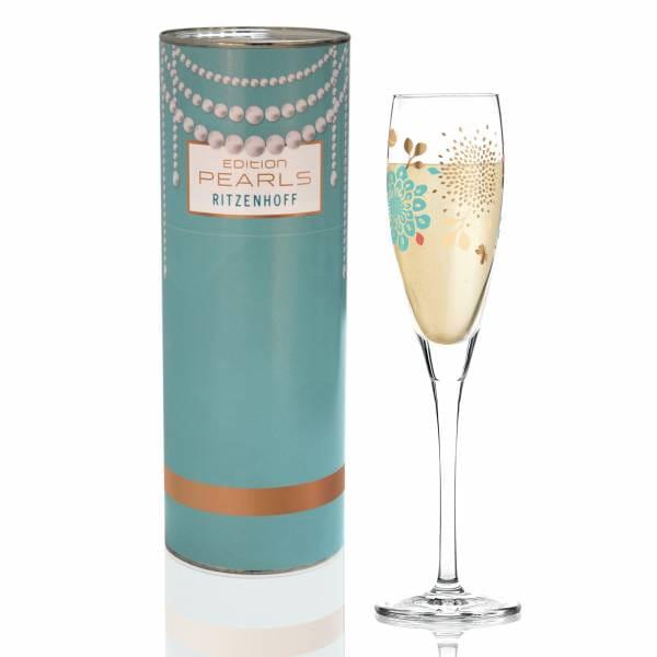Pearls Edition Proseccoglas von Lenka Kühnertová