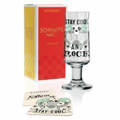 Schnapps shot glass by Kathrin Stockebrand