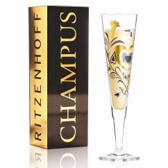 Champus Champagne Glass by Philip Argent