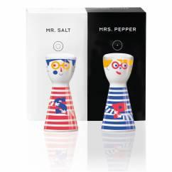 Mr. Salt & Mrs. Pepper Salz- und Pfefferstreuer-Set von Julien Chung