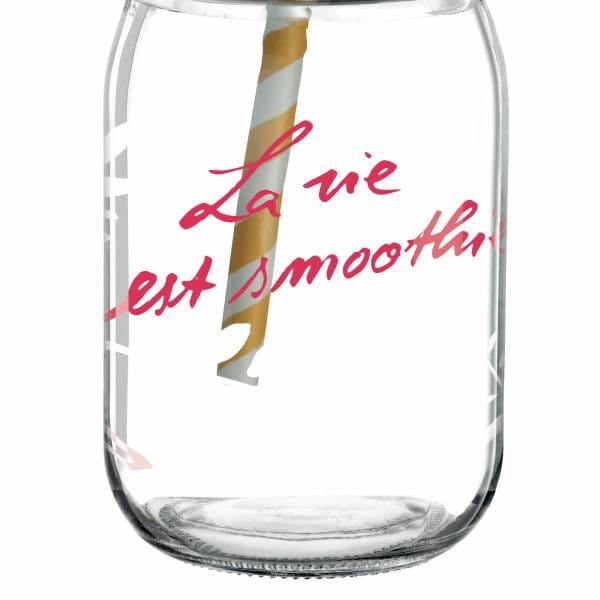 Make It Take It smoothie glass by Jutta Bücker
