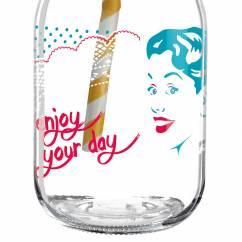 Make It Take It Smoothieglas von Andrea Hilles