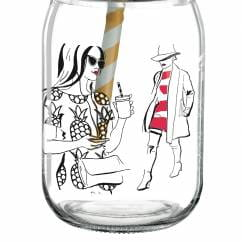 Make It Take It smoothie glass by Andrea Arnolt