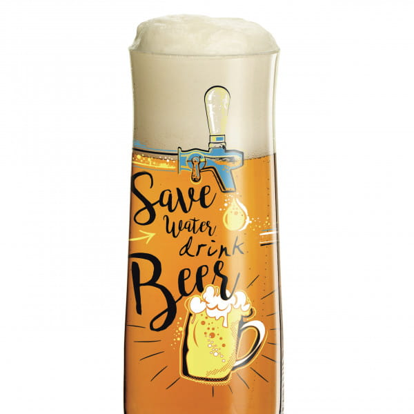 Beer beer glass by Dominika Przybylska (Save water)