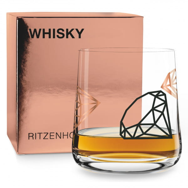 WHISKY Whiskyglas von Paul Garland