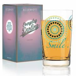 Everyday Darling soft drink glass by Sandra Brandhofer