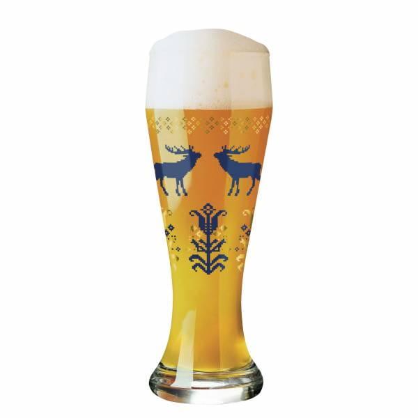Weizen Wheat beer glass from Iris Interthal
