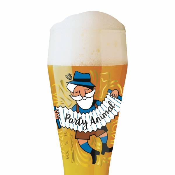 Weizen wheat beer glass by Oliver Melzer