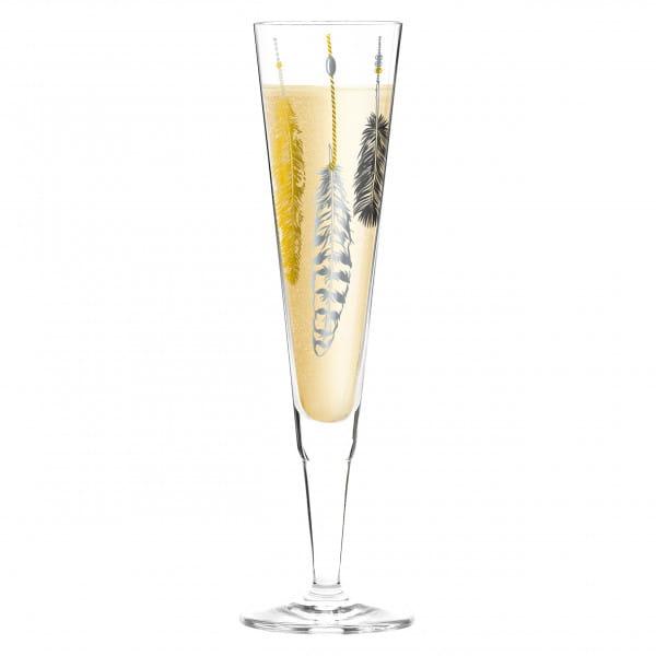 Champus Champagne Glass by Kathrin Stockebrand