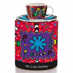 My Little Darling espresso cup by Allison Gregory