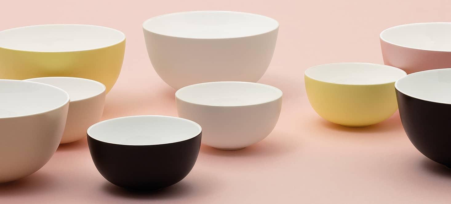 Schalen- & Tellersets: Minimalistisch und hauchdünn
