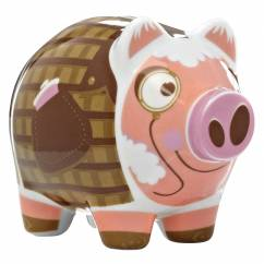 Mini Piggy Bank Set of 3 by Nick Diggory