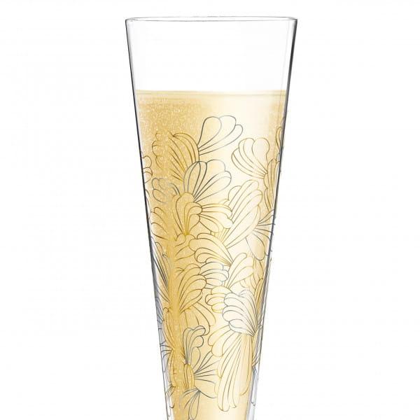Champus Champagnerglas von Lenka Kühnertová (Blossoms)