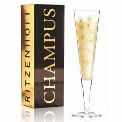 Champus Champagne Glass by Lenka Kühnertová
